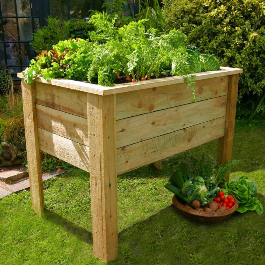 10 Raised Garden Bed Plans For Seniors Slick Garden
